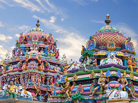 Check out tours and activites from Chennai, India.