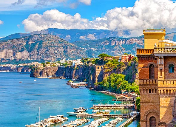 Check out tours and activites from Sorrento, Italy.