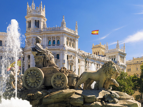 Tours and activites from Madrid, Spain.