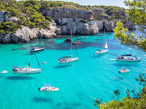 Check out tours and activites from Menorca, Spain.