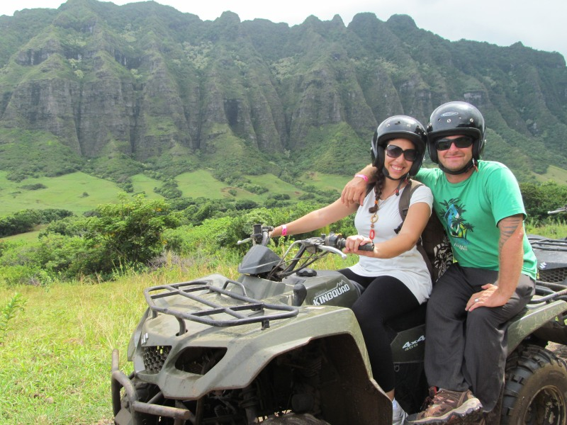 ATV Riding in Kualoa Ranch